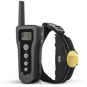 BOOCOSA Dog Training Collar-Remote Rechargeable Shock Collar for Dogs
