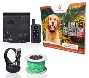 PetControlHQ Wireless Combo Electric Dog Fence System