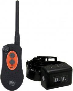 DT systems IDT plus micro dog trainer collar - compact and lightweight collar for lightweight use