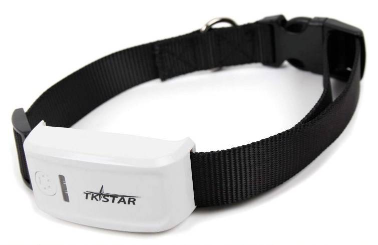TKSTAR Mini GPS Tracker for Pet – GPS Collar with Global Real-Time Locator