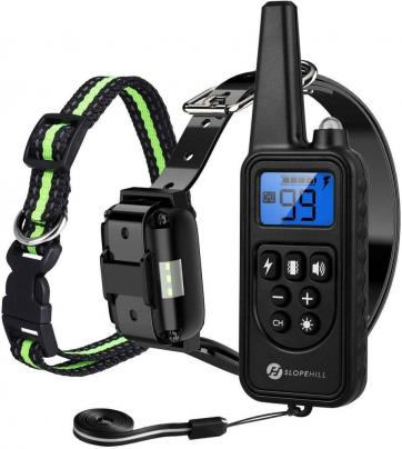 Slope hill dog training collar waterproof dog shock