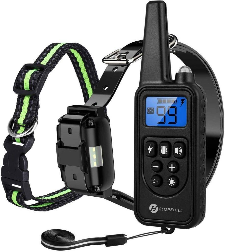 Slope hill dog training collar waterproof dog shock