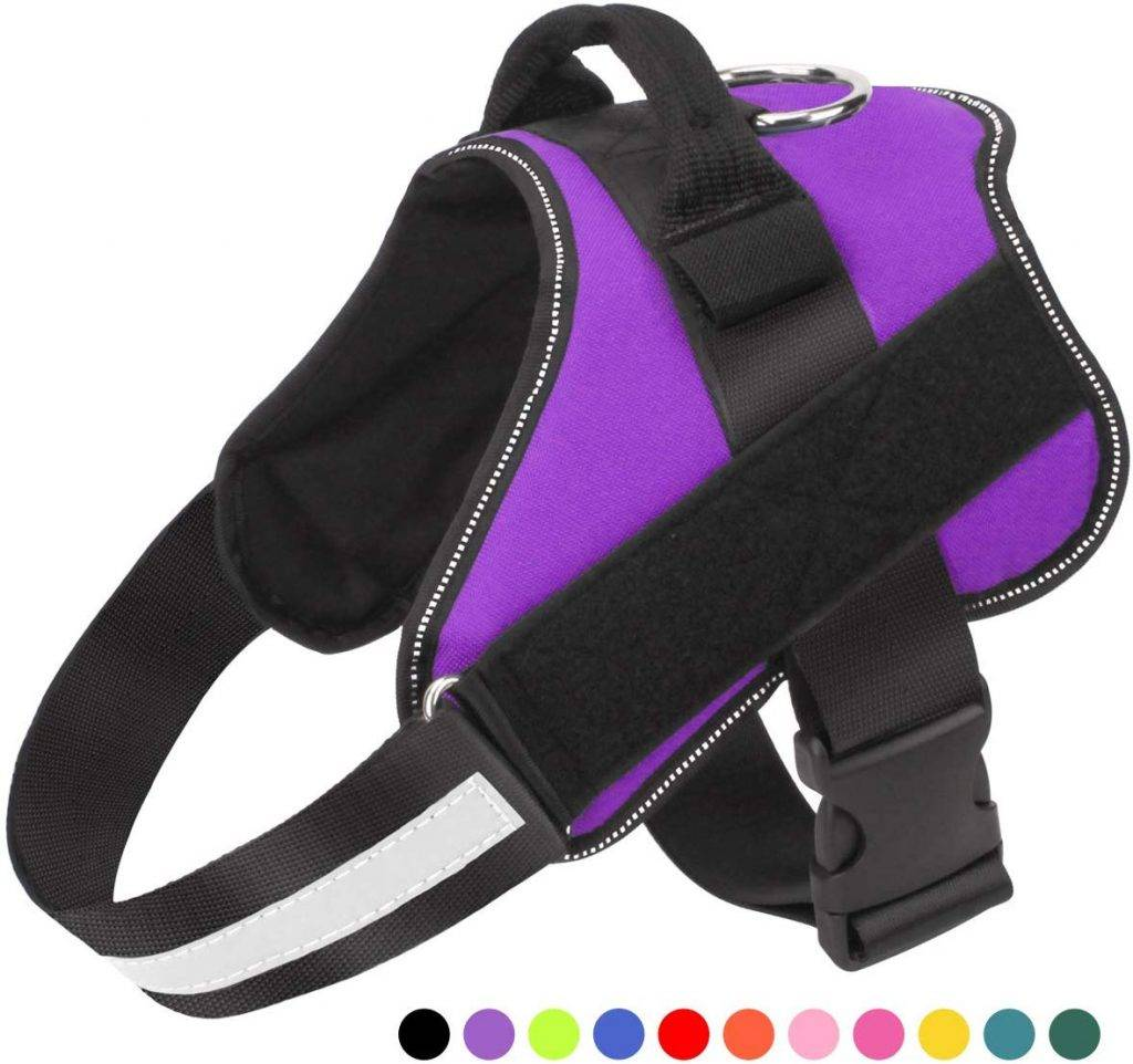 Bolux Dog Harness, No-Pull Reflective Breathable