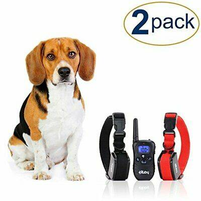 eXuby 2X Shock Collar for Small Dogs w/ 1 Remote & Training Dog Clicker