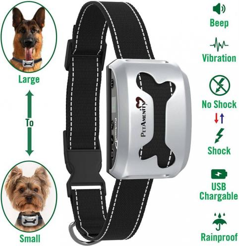 PetAmenity No Barking Control Anti Bark Collar