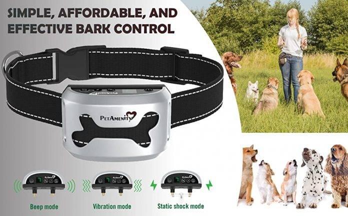 PetAmenity No Barking Control Anti Bark Collar