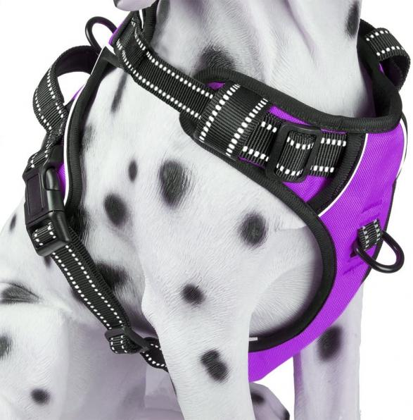 PoyPet No Pull Dog Harness Reflective Vest Harness