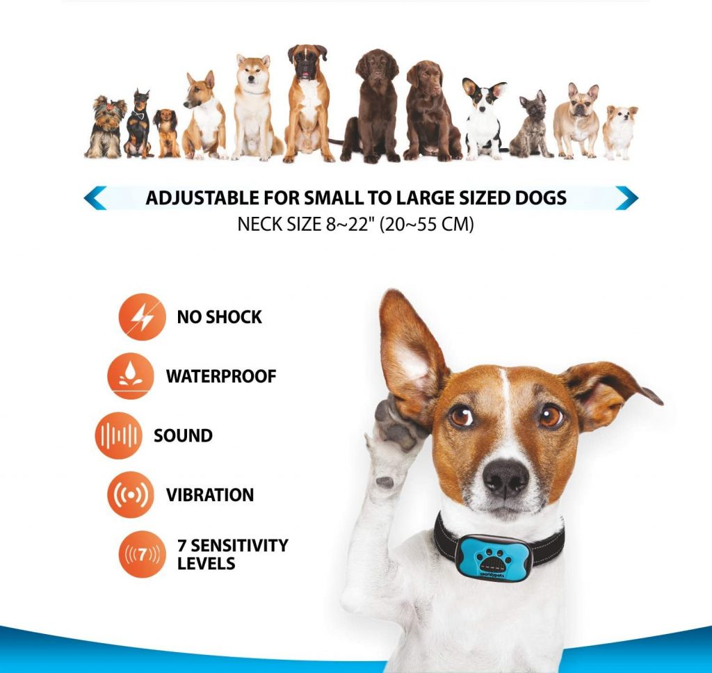 SparklyPets Humane Dog Bark Collar Review
