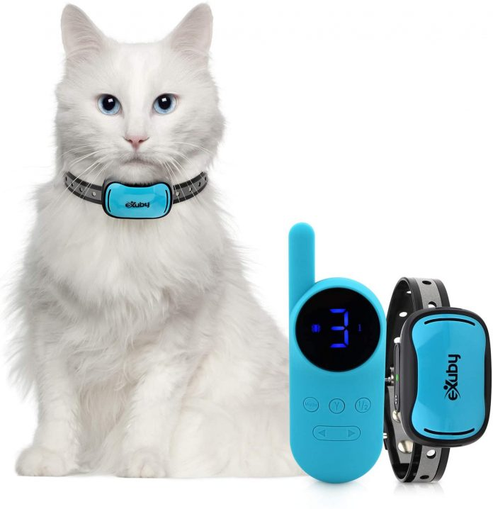 Exuby Tiny Shock Collar for Cats