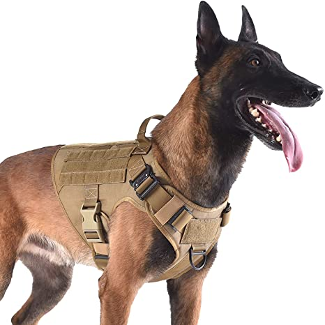 ICEFANG Tactical Dog Harness K9