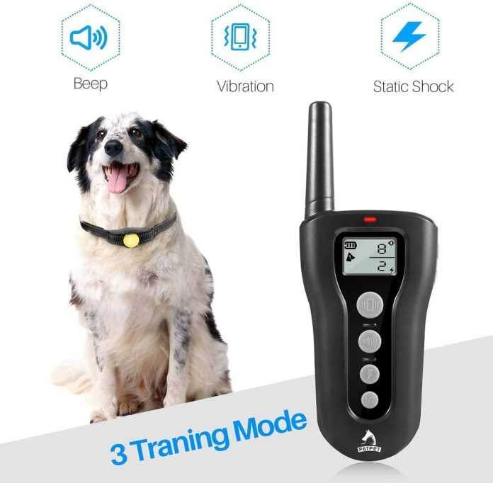 PATPET Dog Training Collar with Remote